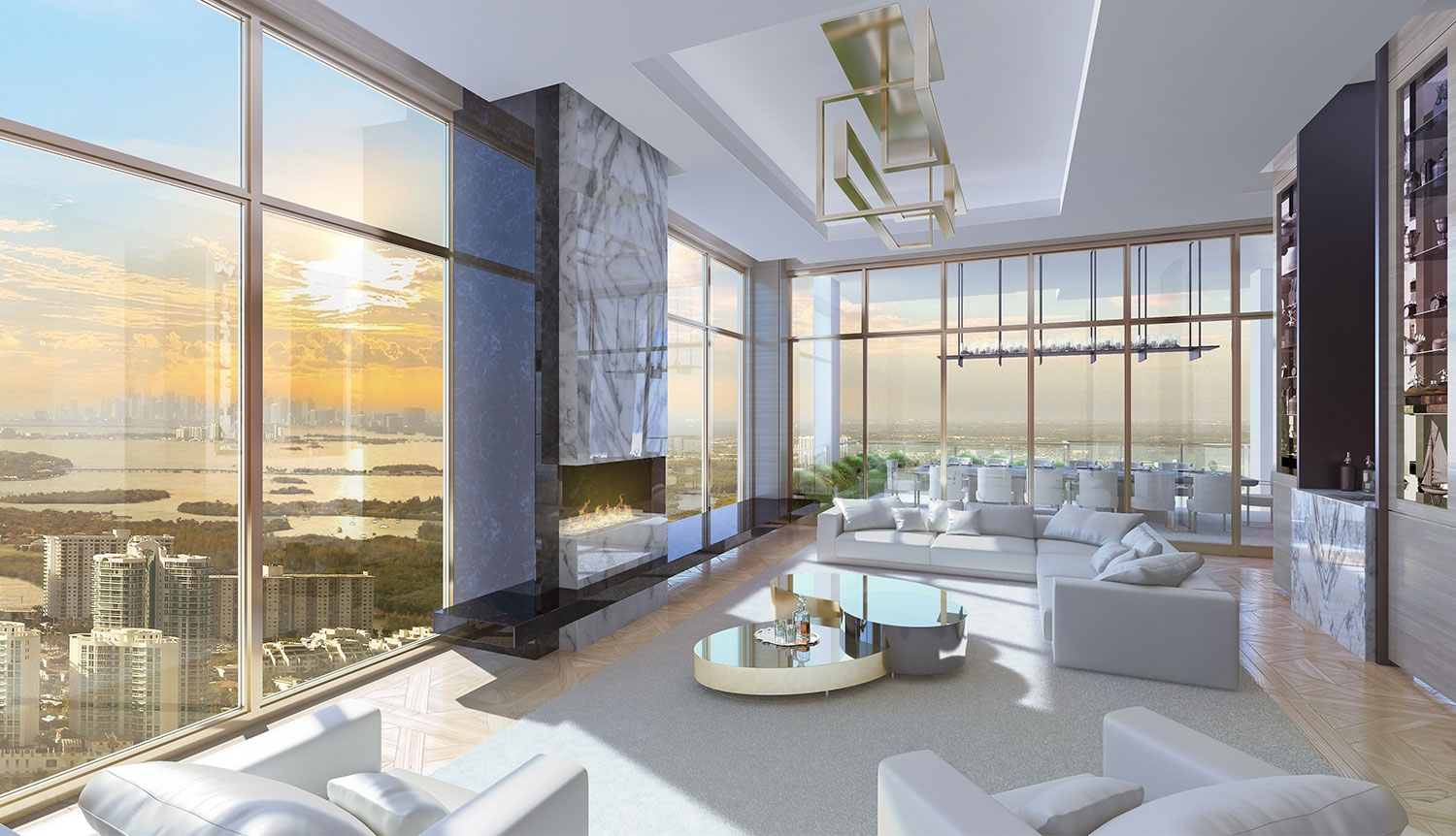 Miami Luxury Real Estate Acqualina Mansions Luxury